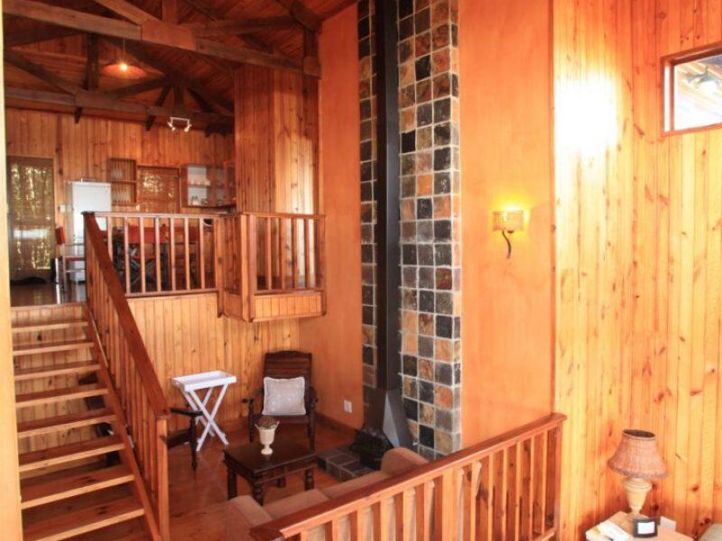 Duplex Chalet Living area